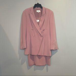 RARE Badgley Mischka Silk Suit